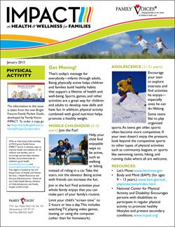 Physical Activity Theme Update - January 2013