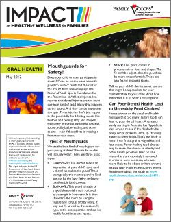 Oral Health Theme Update - May 2012