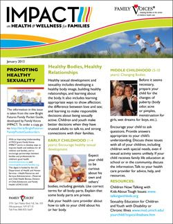 Healthy Sexual Development & Sexuality Update - January 2013