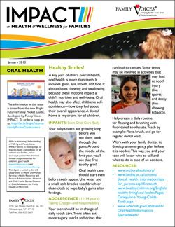 Oral Health Theme Update - January 2013